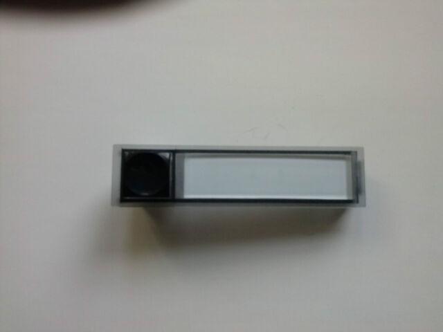 Namenschild Klingeltaster Seko 90x22 mit integr