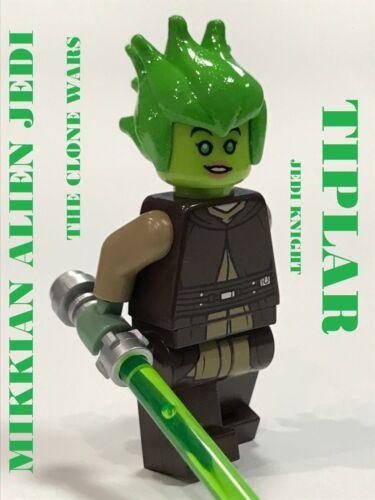 LEGO STAR WARS JEDI TIPLAR 100/% LEGO CUSTOM GEONOSIS ARMY BUILDER TIPLEE SISTER