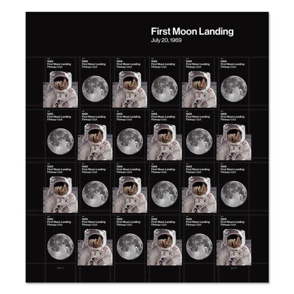 2019 55c First Moon Landing, Armstrong & Buzz Scott 539
