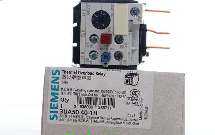 1pcs  NEW IN BOX SIEMENS Thermal Relay 3UA5040-1H