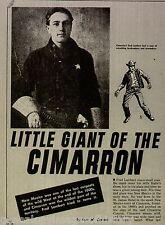 Cimarron County Lawman Fred Lambert + Cody,Conant,Cyclone Bill,Nation,Obyeta