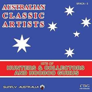 HUNTERS-AND-HOODOO-GURUS-HITS-AUSSIE-SUNFLY-KARAOKE-CD-G