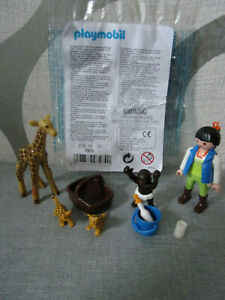 Playmobil-Erganzungen-amp-Accessoire-7970-Tierkinder-Pflegerin-B-Ware