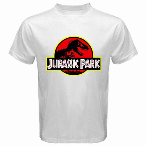 Jurassic Park Le Monde Perdu de Steven Spielberg Homme T-Shirt Blanc Taille S-3XL