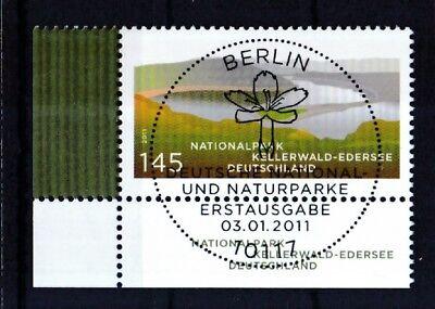 Brd 2011 Gestempelt Esst Berlin Eckrand Minr. 2841 Kellerwald-edersee Hoher Standard In QualitäT Und Hygiene