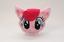 miniature 1 - Hasbro 2014 My Little Pony Plush Coin Circle Face Zipper Pouch - Pinkie Pie MLP