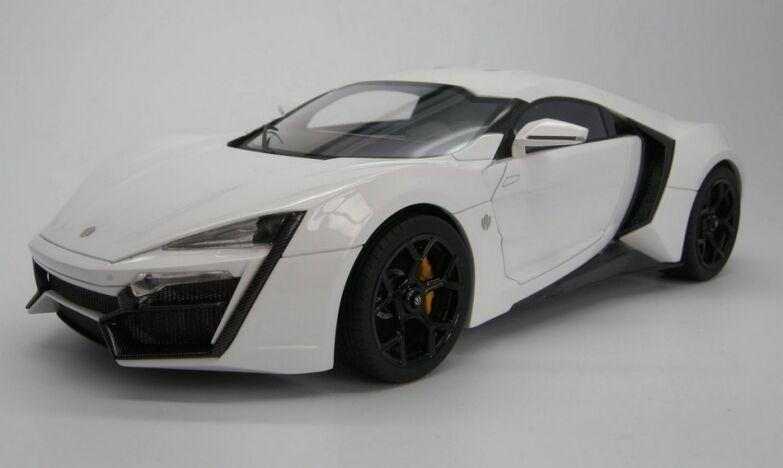 Lykan hyper  blanc 1 18 2012-top brand top030b  qualité de première classe