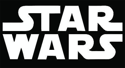 STAR WARS Logo Sticker / Decal - Choose Color & Size -  Car, Tablet, Window