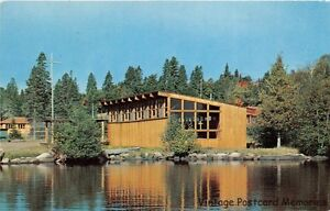 LUTSEN-MN-1960-Linner-Chapel-Cathedral-of-the-Pines-Camp-on-Caribou-Lake-GEM