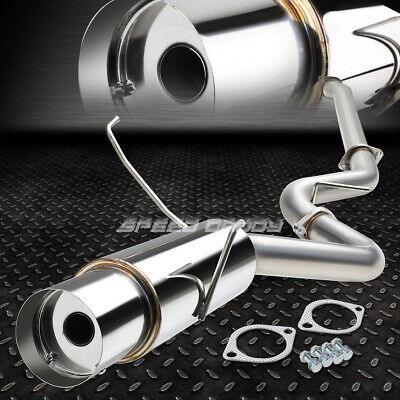 "FOR 15-17 WRX STI GJ//GP//VA 4.5/""ROUND TIP STAINLESS PERFORMANCE CATBACK EXHAUST"
