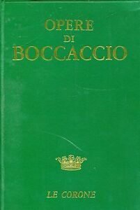 Boccaccio-Giovanni-OPERE-a-cura-di-Cesare-Segre
