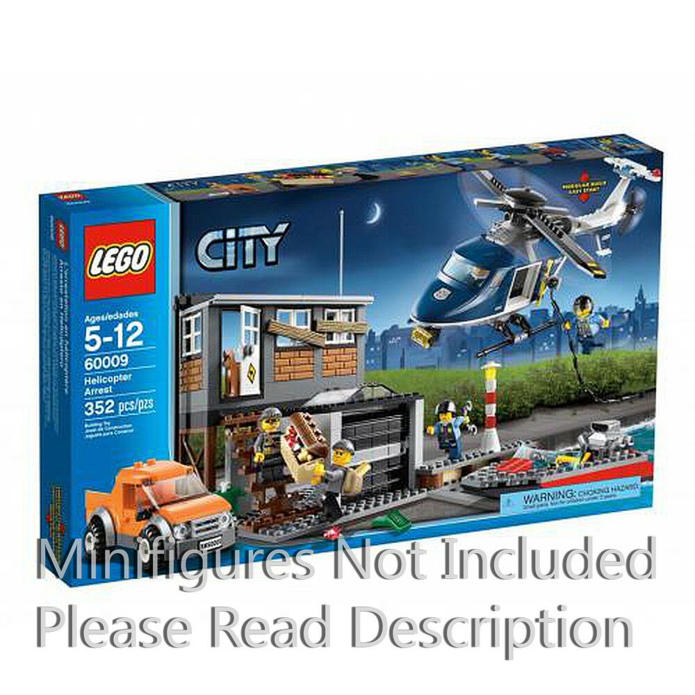 Helicopter Arrest Lego Set: Town: City: Police: 60009-1