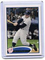 2012 Topps Baseball Card Mickey Mantle New York Yankees Near Mint # 7