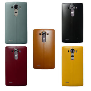 Plastic-Leather-Battery-Door-Housing-Rear-Back-Cover-Case-NFC-Chip-For-LG-G4