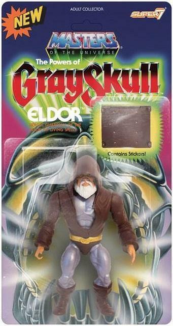 ELDOR Masters of the Universe Vintage MOTU SUPER7 GRAYSKULL HE-MAN SKELETOR