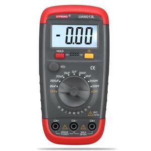 New-UA6013L-Capacitor-Digital-Auto-Range-LCD-Monitor-Capacitance-Tester-Meter-JL