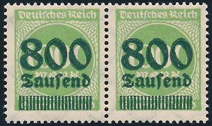 DR-1923-MiNr-308-a-II-tadellos-postfrisch-gepr-Infla-Mi-90