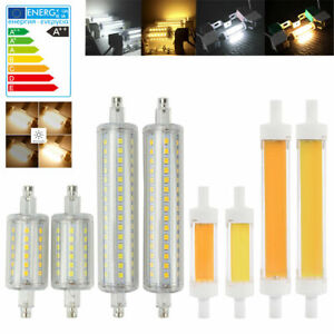 4x-R7S-5-10W-LED-Mais-Ampoule-COB-2835SMD-J78-J118-Remplacer-Lampe-Halogene-Bulb