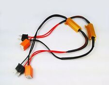 H7 PLUG AND PLAY LED CAR BULBS RESISTORS NO CAN BUS ERROR