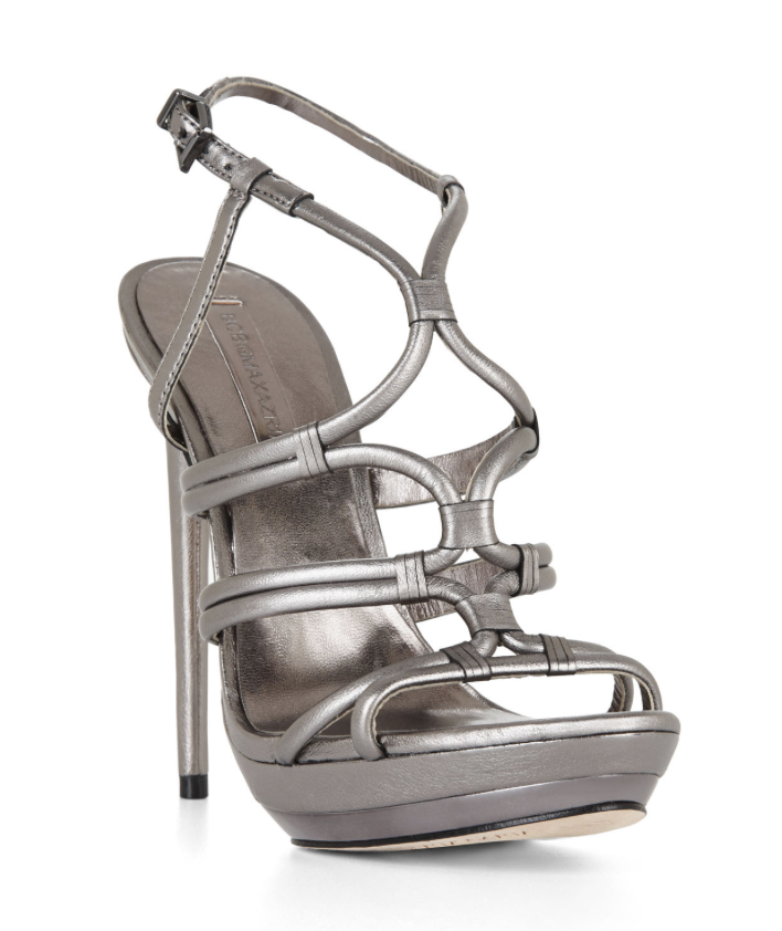 BCBGMAXAZRIA Farrow High-Heel Strappy Dress Sandal 4640 Size 7 M