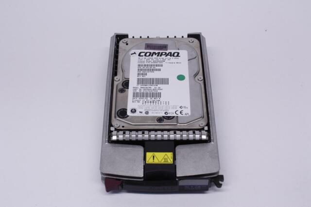 COMPAQ 233806-003 - 3R-A3136-AA - 36.4 GB 10000 RPM 80PIN ULTRA160 SCSI W/ TRAY