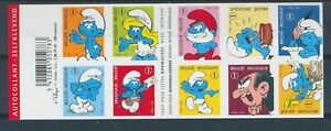 Belgium**SMURFS-COMICS-BOOKLET 10vals-SCHTROUMPFS-SMURF-SCHLUEMPFE-2008