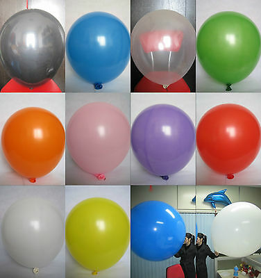 New 36'' 18'' Latex Giant Birthday Wedding Party Decoration Balloons 10 Colors