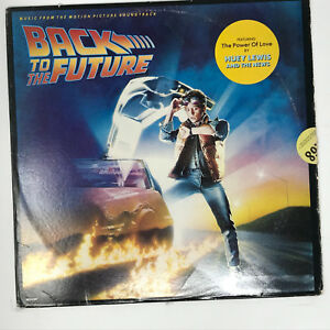 Back-To-The-Future-Soundtrack-LP-Vinyl-Record-Original-1985-Rare-Promo