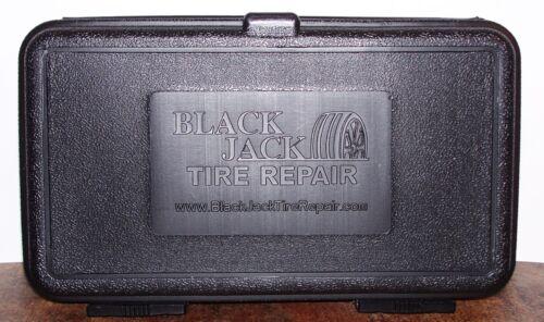 BLACKJACK KT-340 TIRE REPAIR KIT T-BONE HANDLES CAR TRUCK ATV 40 PLUGS