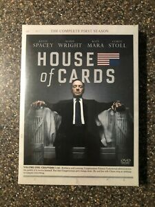 House-of-Cards-Season-1-DVD-Set-Brand-New-Sealed-Free-Shipping