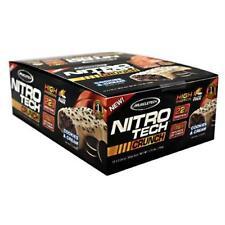 MuscleTech Nitrotech Crunch Protein Bar Cookies And Cream 22 Grams 12bar
