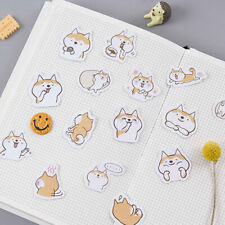 45Pcs Kawaii Cute Dog Stickers Lovely Adhesive Paper Stickers For Kids Diary