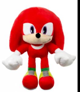 Official-Sonic-Hedgehog-KNUCKLES-30cm-Red-Cuddly-Plush-Soft-Toy-Stuffed-Teddy