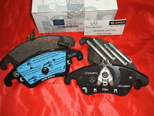 Genuine Mercedes-Benz W212 E-Class FRONT Brake Pads & Sensor A0074207520 NEW