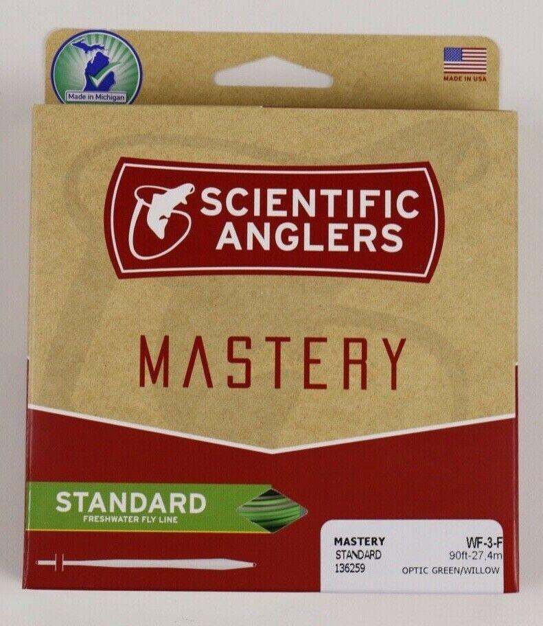 Scientific Anglers Mastery Steard Fly Line WF3F  gratuito FAST SHIPPING 136259