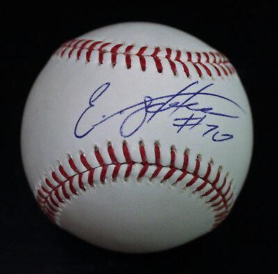 Baseball-mlb Hearty Elniery Garcia Signed Official Major League Baseball W/coa Philadelphia Phillies
