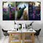 Peacock-Abstract-Animal-Art-3-Pcs-Canvas-Home-Decor-Wall-Poster-Painting-Picture thumbnail 14