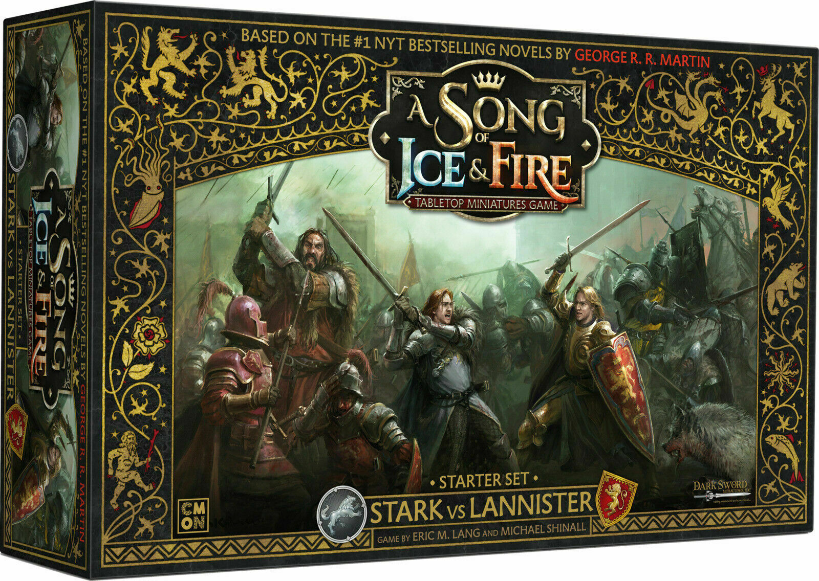 A Song of Fire and Ice Game of Thrones Miniatures Game Starter Set NEW & SEALED