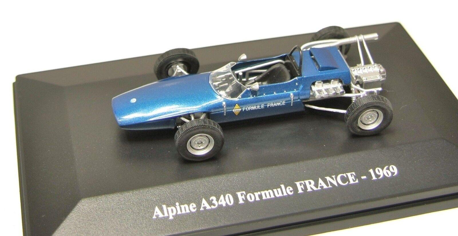 ALPINE A340 FORMULE FRANCE 1969 ELIGOR 1 43 HACHETTE FORMULA blue blue