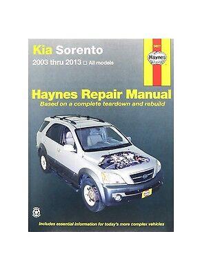 Repair Manual-EX Haynes 54077 fits 2003 Kia Sorento