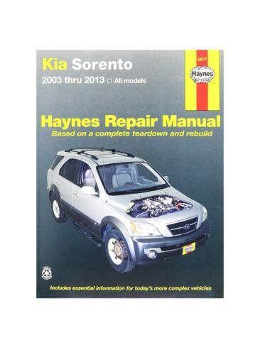 Repair Manual Haynes 54077 fits 03-13 Kia Sorento