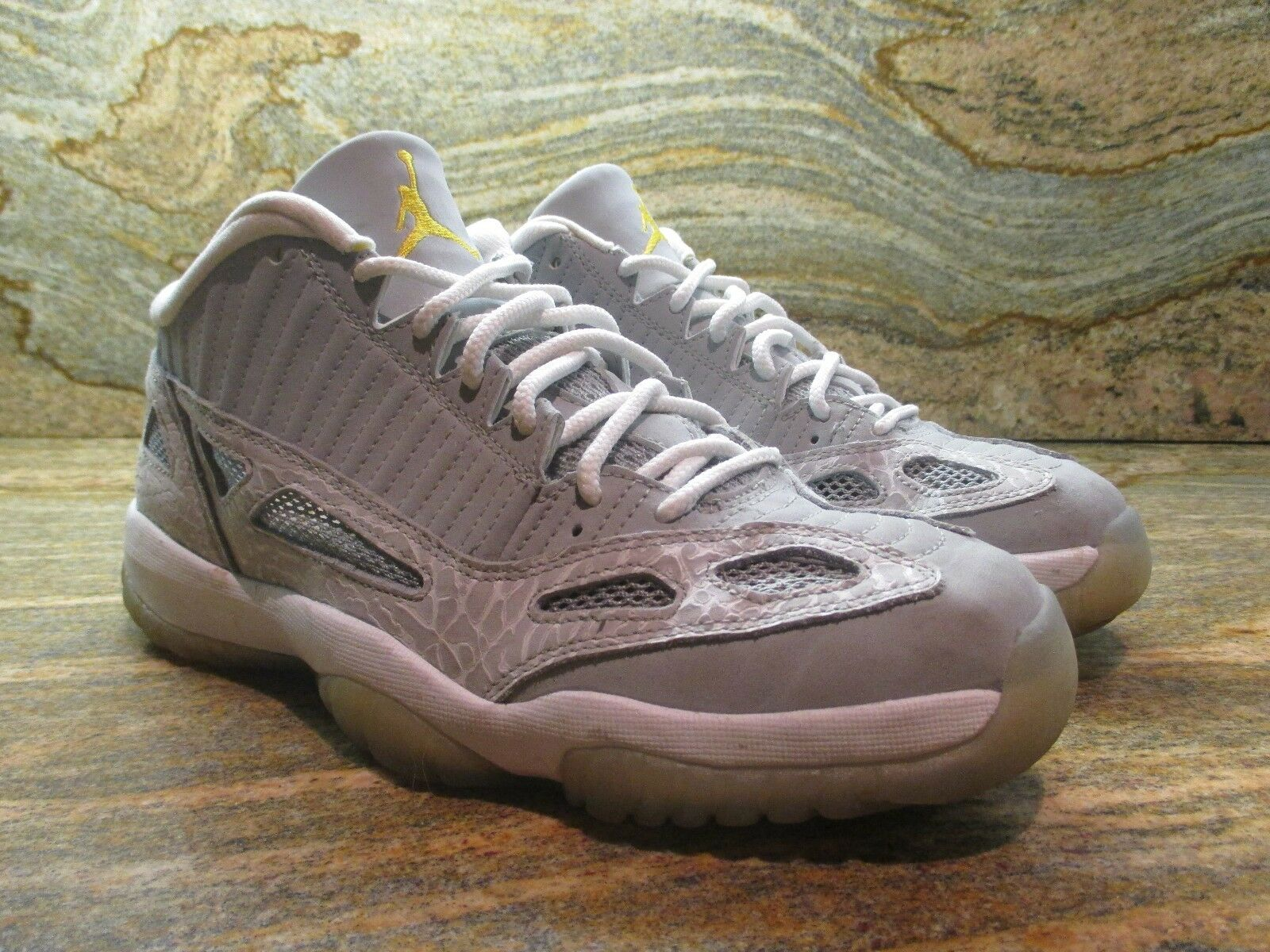 2007 Nike Air Jordan 11 XI Retro Low IE SZ 9 Cool Grey Silver Zest OG 306008-072