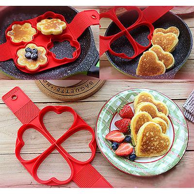 Flipping Fantastic Nonstick Pancake Maker Egg Omelette Ring Maker Kithcen Tools