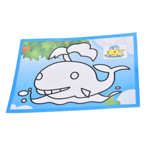 10pcs 9.5*13CM Small Size Kids Scraping Painting Educational Toy For Children/_WK