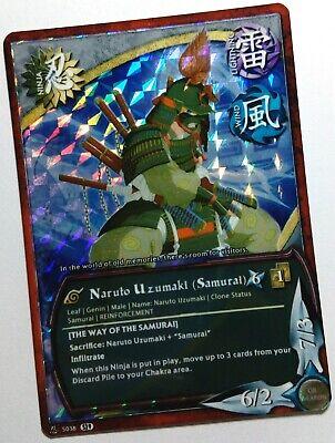 Carte Naruto Custom Collectible Card Game CCG Konan Foil Limited S29 Fancard #17