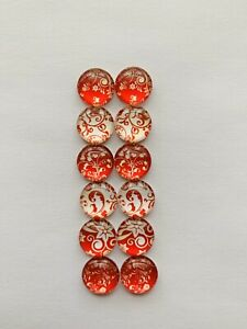6-Pairs-Of-12mm-Cabochons-641