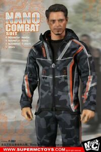 SUPERMC-Toys-1-6-F-080-Nano-Combat-Suit-Hoodie-Clothing-shirt-F-12-034-Figure-Toys