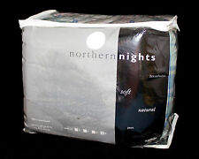 New NORTHERN NIGHTS Multicolor Plaid 100% Cotton Flannel King Sheet Set