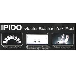 Koda ip100 iPod Docking Station 30 clavijas para iPod Video, nano, Mini