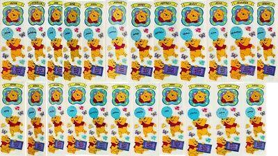 *Letter J* SUPER RARE RETIRED DESIGNS Sandylion Winnie the Pooh Name Stickers